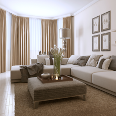Property Managers Glasgow living room